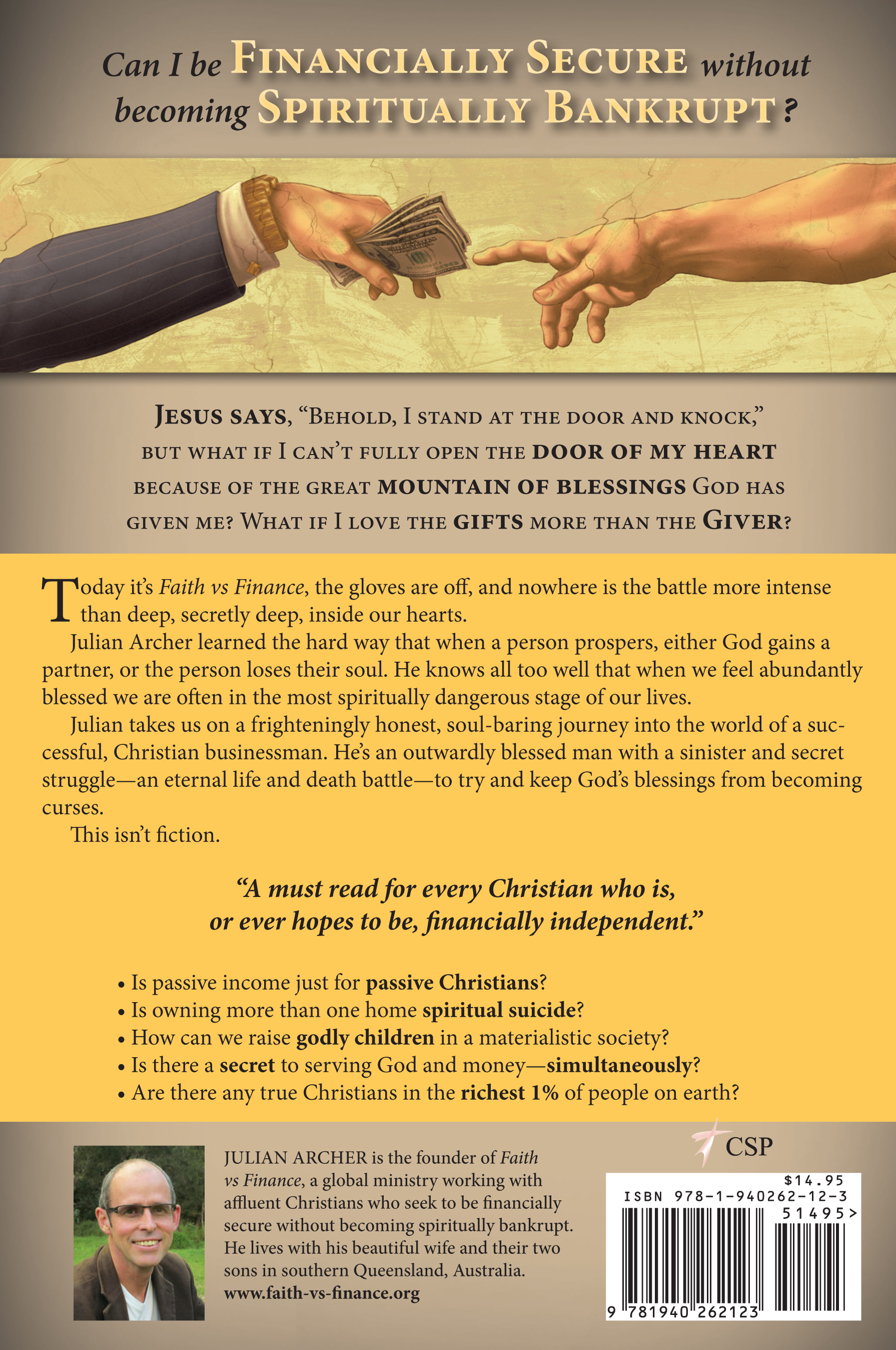 faith vs finance